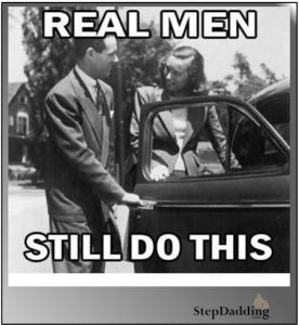 "Are you a ""real man""?"