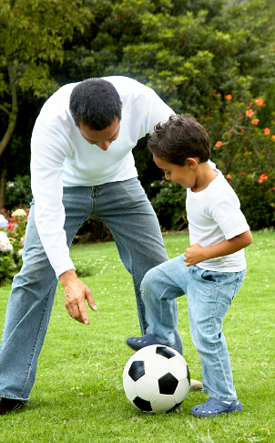 dad-and-son-soccer
